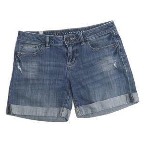 Lauren Conrad Cuffed Denim Jean Shorts Size 4